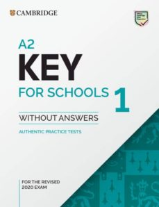 a2 key for schools 1 for revised exam from 2020 student s book without answers-9781108718325
