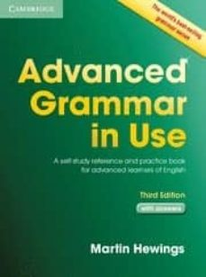 advanced grammar in use (3rd edition) (book with answers)-martin hewings-9781107697386
