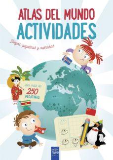 atlas del mundo. actividades-9788408201311