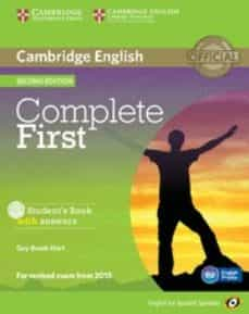 complete first certificate for spanish speakers student s book with answers with cd-rom 2nd edition-9788483238158
