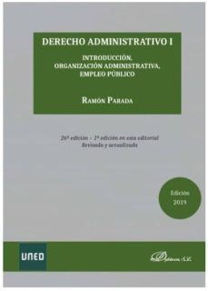 derecho administrativo i (26ª ed.2019)-ramon parada-9788413241739