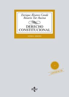 derecho constitucional (9ª ed,)-enrique alvarez conde-rosario tur ausina-9788430977505