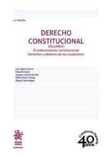 derecho constitucional volumen i 11ª edición 2018-9788491907329