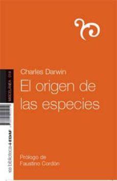 el origen de las especies-charles darwin-9788441425019