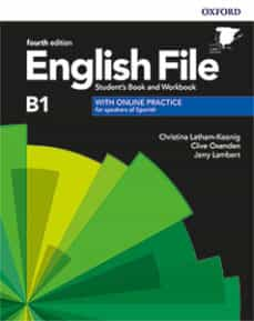 english file 4th edition b1. student s book and workbook with key pack-9780194058063