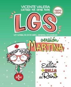 lgs versión martina-vicente valera-9788430978908