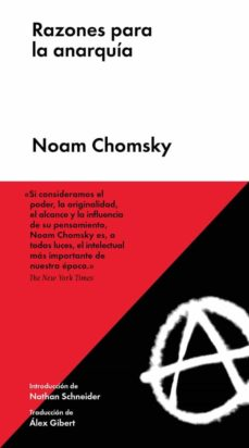 razones para la anarquia (5ª ed.)-noam chomsky-9788417893415