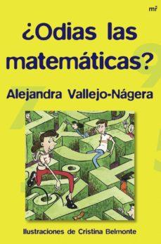 ¿odias las matematicas?-alejandra vallejo-nagera-9788427034273