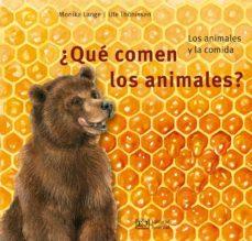 ¿qué comen los animales?-monika lange-ute thönissen-9788426144089