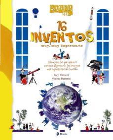 16 inventos (saber mas)-violeta monreal-9788421686515