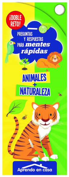 doble reto para mentes rapidas animales + naturaleza-9788491785927