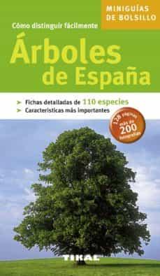 arboles de españa (miniguias de bolsillo)-9788492678365
