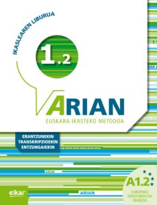 arian a1.2 ikaslearen liburua cd y erantzunak-9788490271315