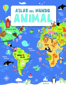 atlas del mundo animales-9788466237314