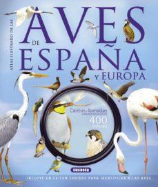 atlas ilustrado de las aves de españa y europa con cd-paul sterry-andrew cleave-9788467724172