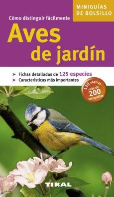 aves de jardin (miniguias de bolsillo)-9788492678389