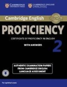 cambridge english proficiency 2 student s book with answers with audio-9781107646513