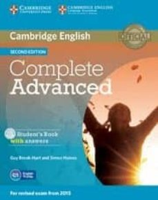 complete advanced student s book pack (student s book with answers with cd-rom and class audio cds (3)) 2nd edition-9781107688230