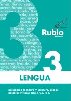 cuaderno rubio lengua 3 evolucion-9788485109906