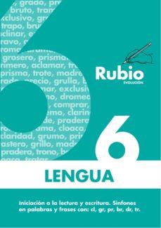 cuaderno rubio lengua 6 evolucion-9788485109937