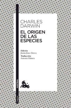 el origen de las especies-charles darwin-9788467033298