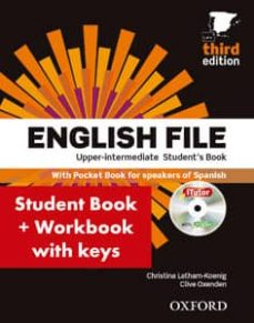 english file upper intermediate. student s book with workbook with answers (3rd ed.)-9780194558662