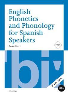 english phonetics and phonology for spanish speakers-brian mott-9788447535040