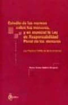 estudio de las normas sobre los menores, y en especial la ley de responsabilidad penal de los menores: ley organica 7/2000 de 22  de diciembre-maria teresa bailach minguell-9788495458735
