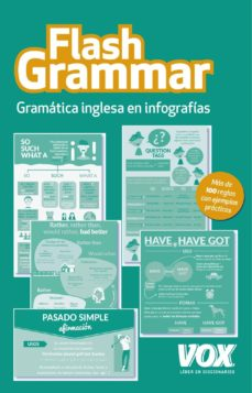 flash grammar: gramatica inglesa en infografias-9788499742380