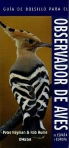 guia de bolsillo para el observador de aves de españa y europa-peter hayman-9788428216043