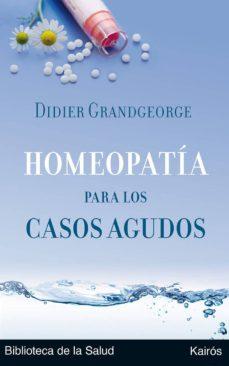 homeopatia para los casos agudos-didier grandgeorge-9788472455894