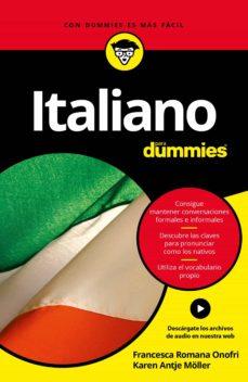 italiano para dummies-francesca romana onofri-karen antje möller-9788432903052