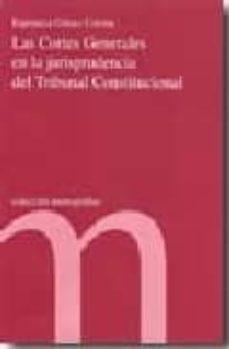 las cortes generales en la jurisprudencia del tribunal constituci onal-9788479433291