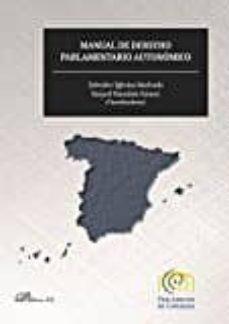 manual de derecho parlamentario autonomico-salvador iglesias machado-9788490859612