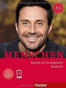menschen a2. kursbuch mit dvd-rom: deutsch als fremdsprache-9783192119026