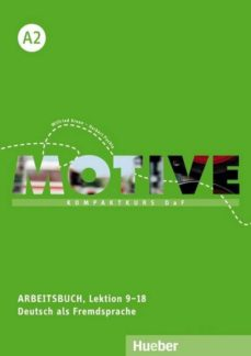 motive a2: kompaktkurs daf.deutsch als fremdsprache / arbeitsbuch, lektion 9-18 mit mp3-audio-cd-9783190318810