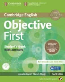 objective first for spanish speakers self-study pack (student s book with answers, class cds (3)) 4th edition-9788483236673