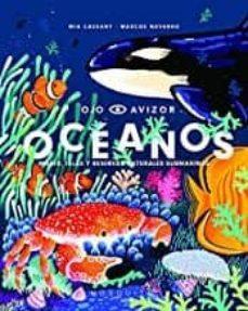 océanos: mares, islas y reservas naturales submarinas-mia cassany-9788412033212