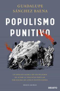 populismo punitivo-guadalupe sanchez baena-9788423431298