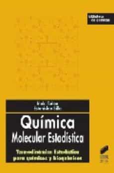 quimica molecular estadistica-iñaki tuñon-9788497565899