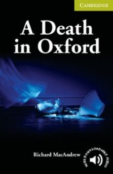 a death in oxford-richard macandrew-9780521704649