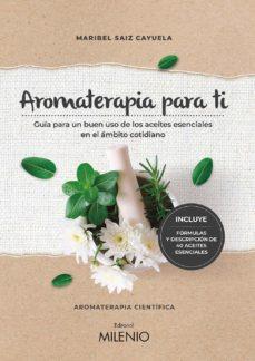 aromaterapia para ti-maribel saiz cayuela-9788497439022