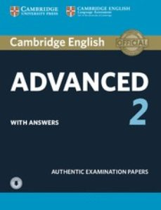 cambridge english: advanced (cae) 2 student s book with answers & audio-9781316504499