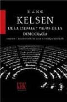 de la esencia y valor de la democracia-hans kelsen-9788496476691