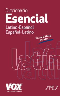 diccionario esencial latino-español, español-latino-9788499742021