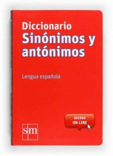 diccionario sinonimos grande 2012 (con acceso on line)-9788467541403