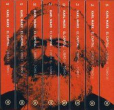 el capital (8 vols.) (incluye estudio prelim.) (2ª ed.)-karl marx-9788446012221