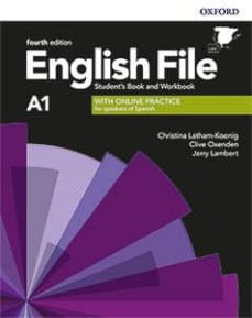english file 4th edition a1. student s book and workbook with key pack-9780194057950