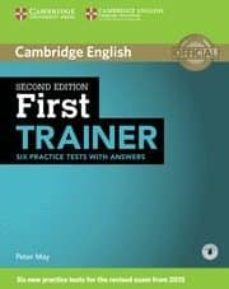 first trainer. six practice test with answers (2nd ed.) (download audio)-9781107470187