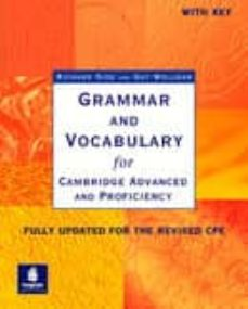 grammar and vocabulary for cambridge advanced and proficiency (wi th key)-richard side-guy wellman-9780582518216